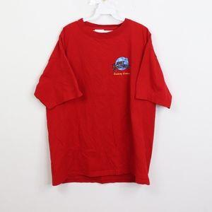 90s Planet Hollywood Mens XL Hercules Art T Shirt